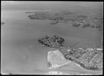 Stanley Bay, Devonport, Auckland City, showing reclaimation
