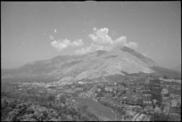 Monte Sant Angelo, to the right of the town of Sora, captured by 24 NZ Battalion, Italy, World War II - Photograph taken by George Kaye