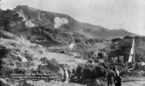 Dressing station, Gallipoli - Photograph taken by J M