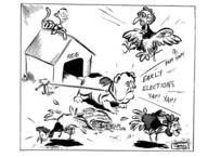 Lynch, James, 1947-:Yap! Yap! Early elections! Yap! Yap! 24 August 1981