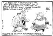 Scott, Thomas, 1947- :Pita Sharples and Tariana Tuia [Turia] are reconsidering retirement. 16 June 2012