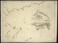 Kawau Island [cartographic material] / surveyed by Capt. J.L. Stokes, 1849.