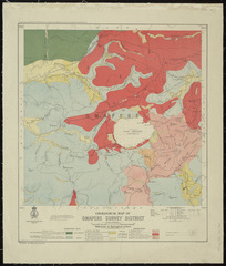 Geological map of Omapere survey district [cartographic material] / compiled and drawn by R.J. Crawford.
