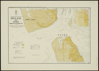 Geological map of North Head and Okaka survey districts [cartographic material] / drawn by G.E. Harris.