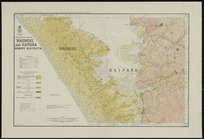Geological map of Waioneke and Kaipara survey districts [cartographic material] / drawn by G.E. Harris.