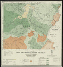 Geological map of Mata and Waipiro survey districts [cartographic material] / drawn by G.E. Harris.