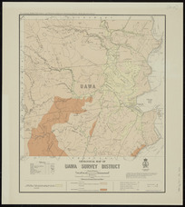 Geological map of Uawa survey district [cartographic material] / compiled and drawn by G.E. Harris.