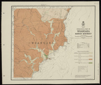 Geological map of Whangara survey district [cartographic material] / compiled and drawn by G.E. Harris.