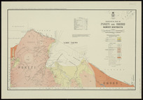 Geological map of Puketi and Omoho Survey Districts [cartographic material] / drawn by G.E. Harris.