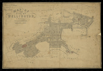 Map of the city of Wellington and reserves [cartographic material].