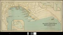 Wellington Harbour Board berthage plan [cartographic material].
