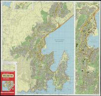 Street map of Wellington, scale 1:20 000 (1 cm to 200 metres) [cartographic material].