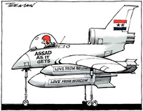 Tremain, Garrick 1941- :Assad as it gets - love from Moscow, love from Beijing. 26 July 2012