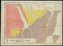 Geological map of Rotoroa, Arnaud and part of Rotoiti survey districts [cartographic material] / drawn by G.E. Harris, 1935.