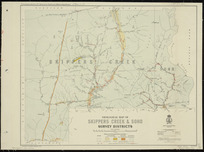 Geological map of Skippers Creek & Soho Survey Districts [cartographic material] / drawn by R.J. Crawford.