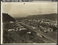 Creator unknown :Photograph of Taumarunui taken for The Press