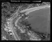View of part of western Lyall Bay, Wellington, New Zealand