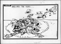 Walker, Malcolm, 1950- :Hats into the ring... Sunday News, 13 September 1982.