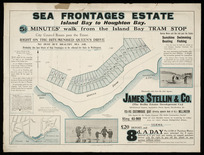 Sea Frontages Estate, Island Bay to Houghton Bay [cartographic material] / surveyed by Beere & Seddon.
