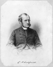 Mason & Co (Photographers) :George Augustus Selwyn. Engraved by W. Hale, 1878-1879 from a photograph by Messrs Mason & Co. [London, 1889]
