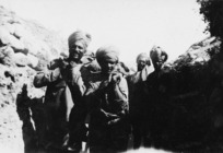 Turbaned soldiers from India