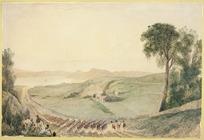 Maplestone, Henry, 1819?-1884 :[Hawkestone Street, Thorndon, Wellington] 1849