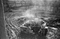 Kaye, George, 1914- : NZ mortar position near Faenza, Italy
