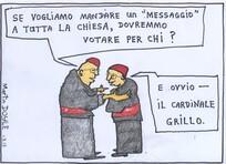 """Doyle, Martin, 1956- :'Se vogliamo mandare un """"messaggio"""" a tutta la chiesa, dovremmo votare per chi?' 1 March 2013"""