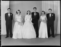 Unidentified wedding group, probably Robinson family wedding