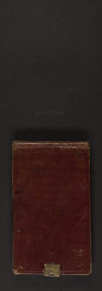 Haast, Julius von (Sir) 1822-1887 : Notebook