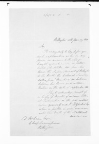 Native Land Purchase Commissioner - Papers