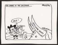Bromhead, Peter, 1933- :The horns of dilemma. 17 December 1984.