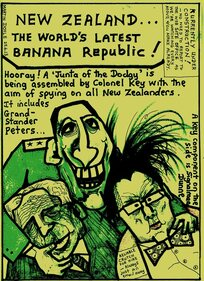 Doyle, Martin, 1956- :New Zealand...The World's Latest Banana Republic!. 25 June 2013