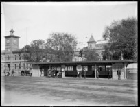 Tram shelter, Cathedral Square, Christchurch
