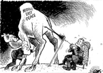 Evans, Malcolm 1947- :[Pulling the camel through the Eye of the Needle], New Zealand Herald, 24 July 2000.