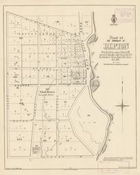 Plan of the township of Dipton [electronic resource] : Blocks II to XI, also portions of Blocks I & XII / surveyed by James Hay, Assist Surveyor, Sept. 1875, the remainder by Norman Prentice, Dist. Surveyor July 1880 ; drawn by E.A. Lewis, Sept. 1880.