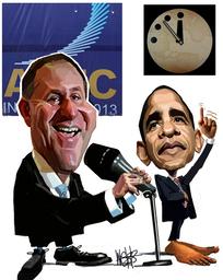 Webb, Murray, 1947- :Key APEC. 9 October 2013