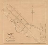 Plan of the town of Ettrick (Bengerburn) [electronic resource] / C.W. Adams district surveyor ; J. Douglas, delt. ; J.T. Thomson, chief surveyor.