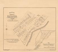Blocks 1 to 6, township of Mataura [electronic resource] / G.F. Richardson, Surveyor Novr, 1874 ; drawn by F.W.