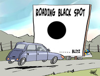 Hawkey, Allan Charles, 1941- :Black spot. 11 December 2013