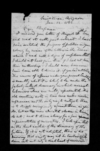 Letters from J S Mill