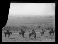 New Zealand troops at the Anzac Horse Show, World War I