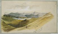 [Hodgkins, William Mathew] 1833-1898 :Wellington, from near Mount Albert. Oct. 17, 1868