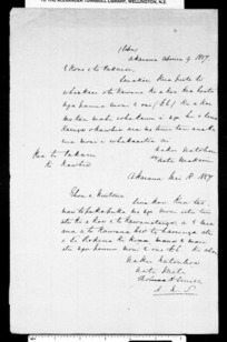 Draft letter from McLean and draft letter from Smith to Nuitone