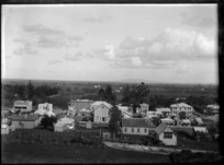 Part one of a two-part panorama of Paeroa