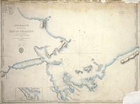 Bay of Islands [cartographic material] : from surveys made in La Coquille, M. Deperrey, Commandant, 1824, and L'Astrolabe, M. Laplace, Commandant, 1830,1,2.