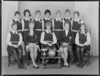 Wellington senior basketball representative team of 1968