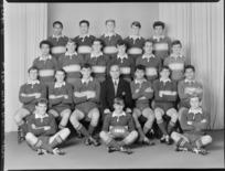 Wellington High School 1st XV rugby team of 1968