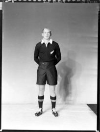 Eric Tindill, member of the All Blacks, New Zealand representative rugby union team