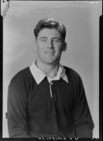 S K Henderson, 1955 New Zealand All Black rugby union trialist